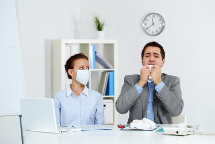Kollege krank