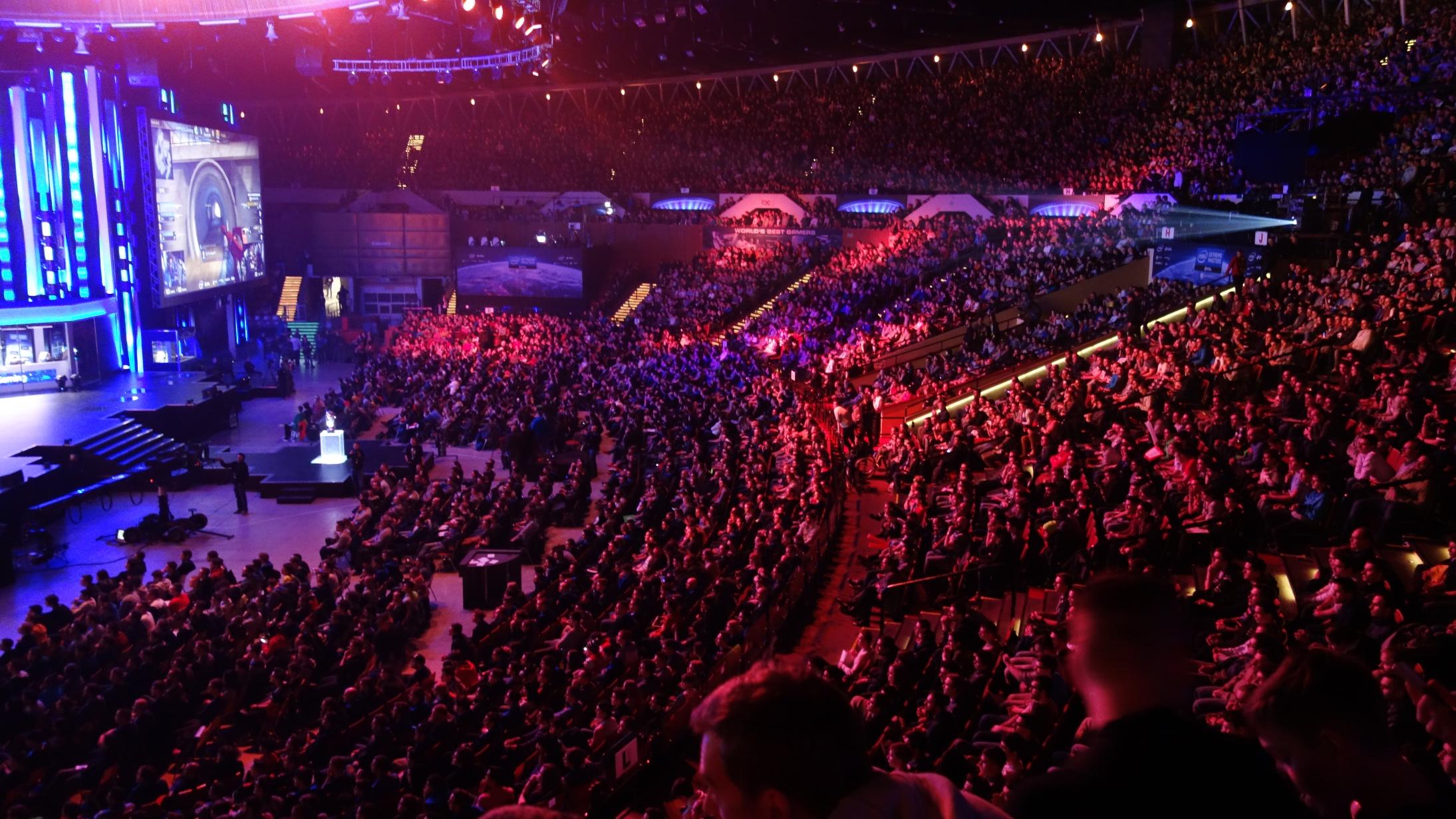 eSport Turnier Zuschauer