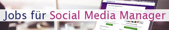 Jobs für Social Media Manager 2016